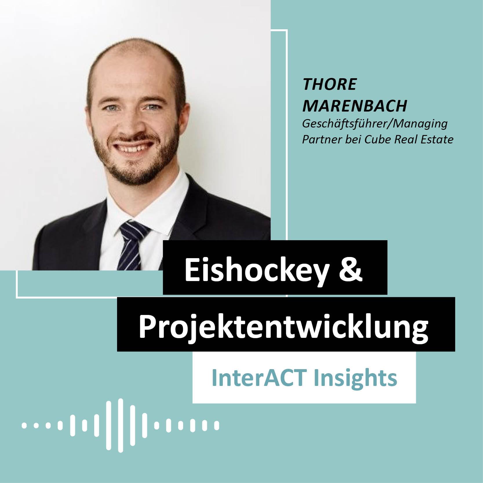 "Podcastfolge mit Thore Marenbach - ""Eishockey & Projekt"" - InterACT Insights"